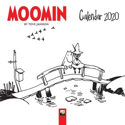 2020 Moomin By Tove Jansson Mini Wall Calendar (Calendar)