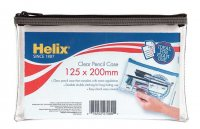 Helix Clear Pencil Case