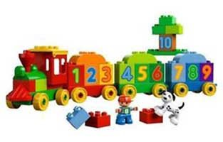 LEGO (R) DUPLO (R) My First Number Train