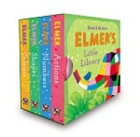 Elmer's Little Library (Board book)