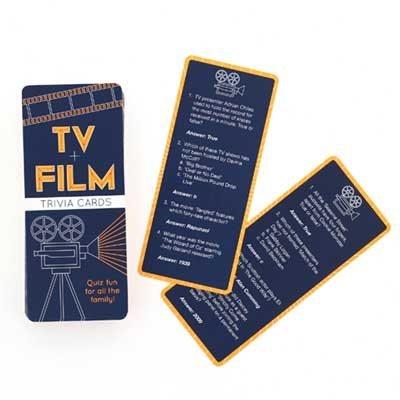 Film & Tv Trivia Cards