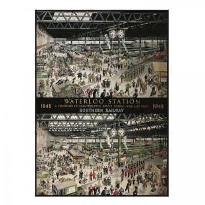 Waterloo Station 1000 piece Jigsaw Puzzle